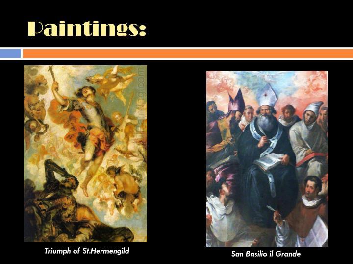 Paintings: