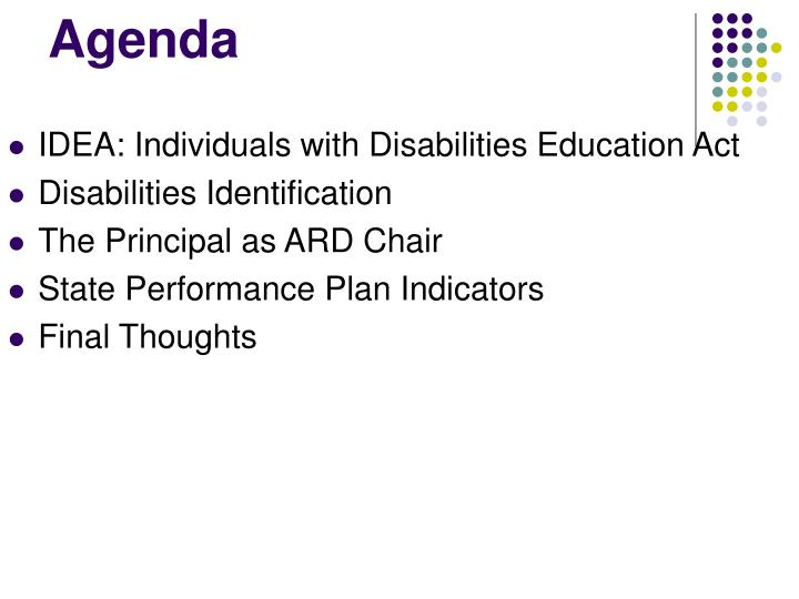 idea individuals with disabilities education act essay Background of the law in 1972, congress commenced an investigation to determine the status of children with disabilities in the country according to statistics from the bureau of education for the handicapped that more than 8 million children were in need of.