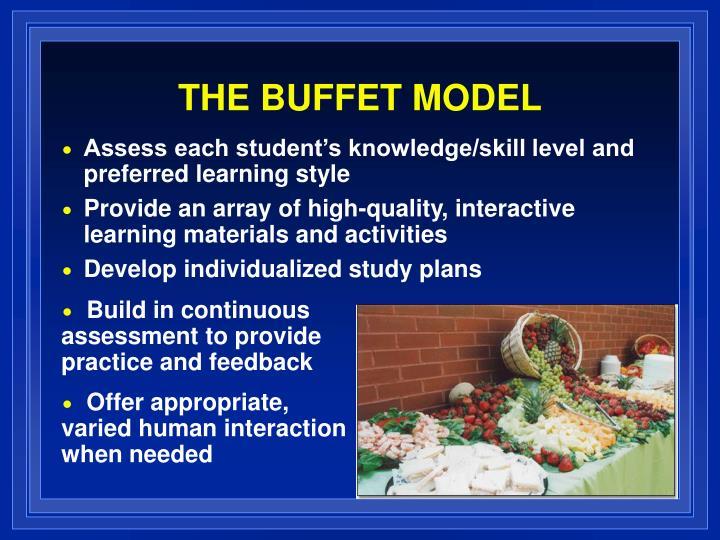 THE BUFFET MODEL