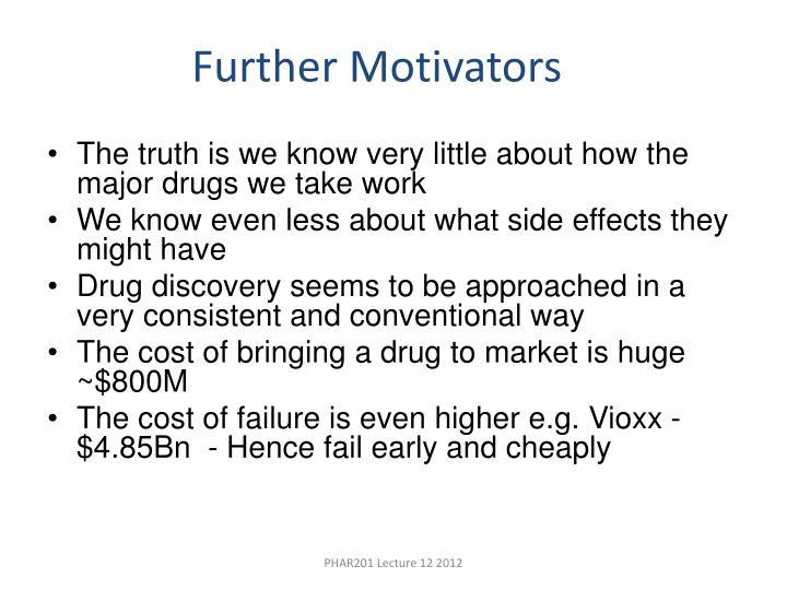 The truth is we know very little about how the major drugs we take work