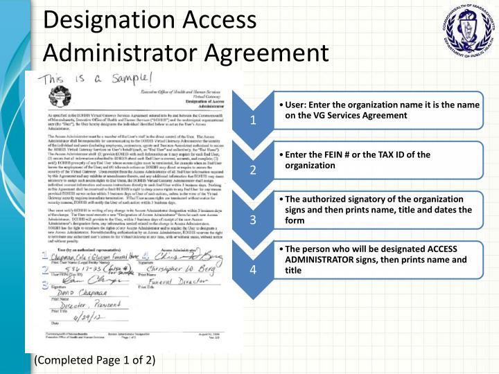 Designation Access