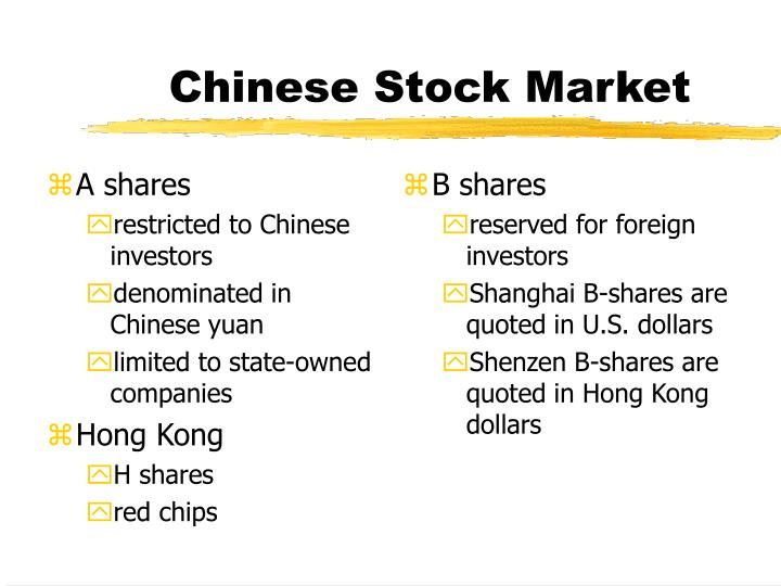 A shares