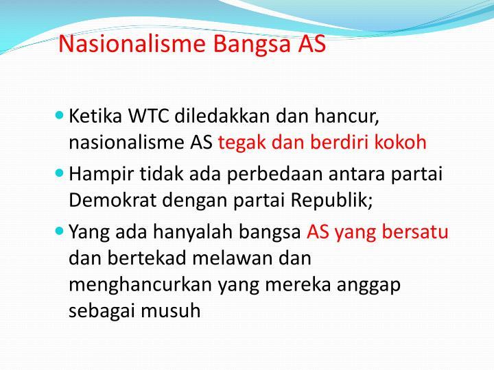 Nasionalisme Bangsa AS
