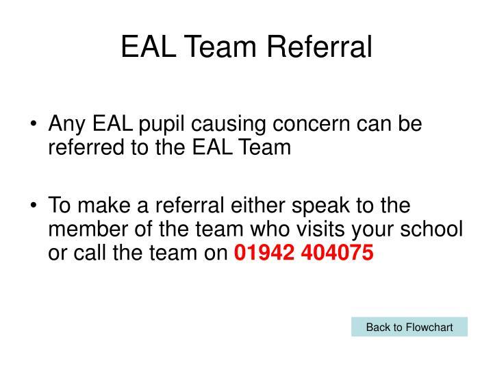 EAL Team Referral