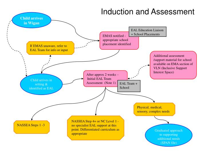Induction and Assessment