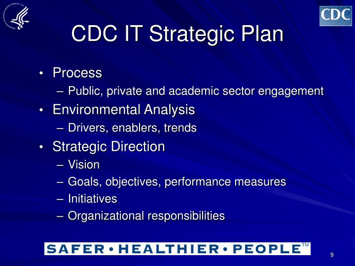 CDC IT Strategic Plan