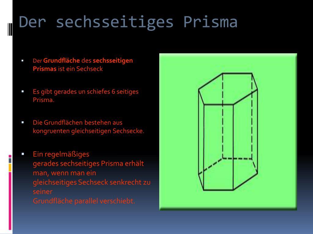 Ecken und kanten prisma