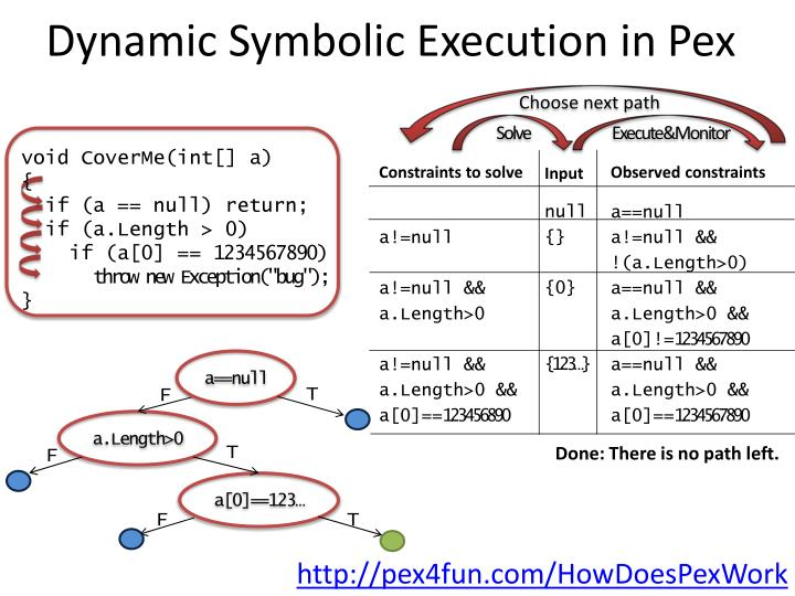 Dynamic Symbolic Execution in