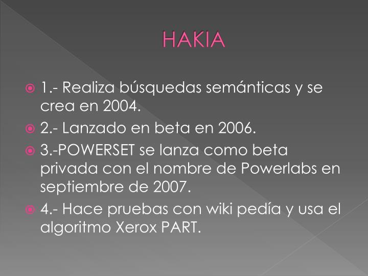 HAKIA
