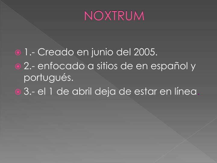 NOXTRUM