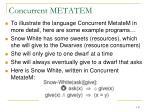 concurrent metatem6