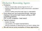 deductive reasoning agents1
