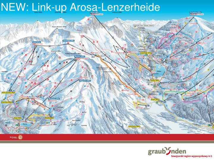 NEW: Link-up Arosa-Lenzerheide