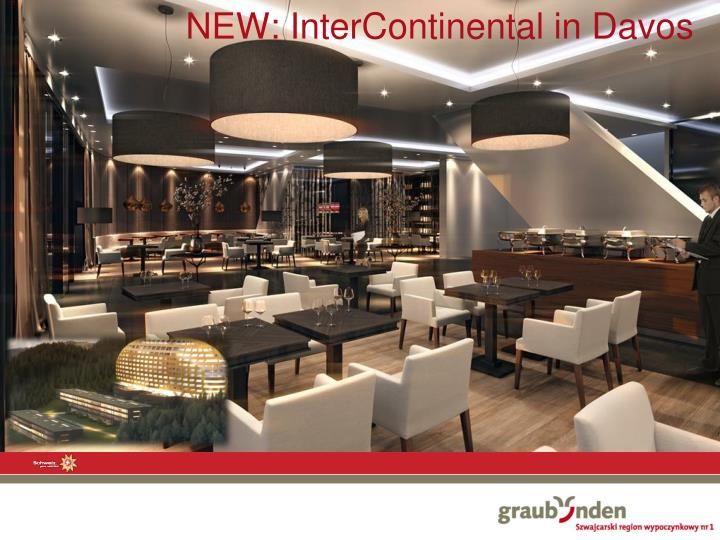 NEW: InterContinental in Davos