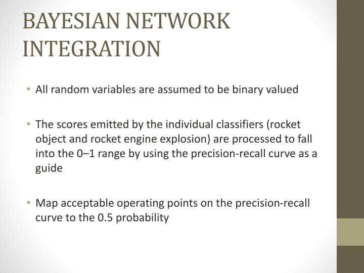 BAYESIAN NETWORK INTEGRATION