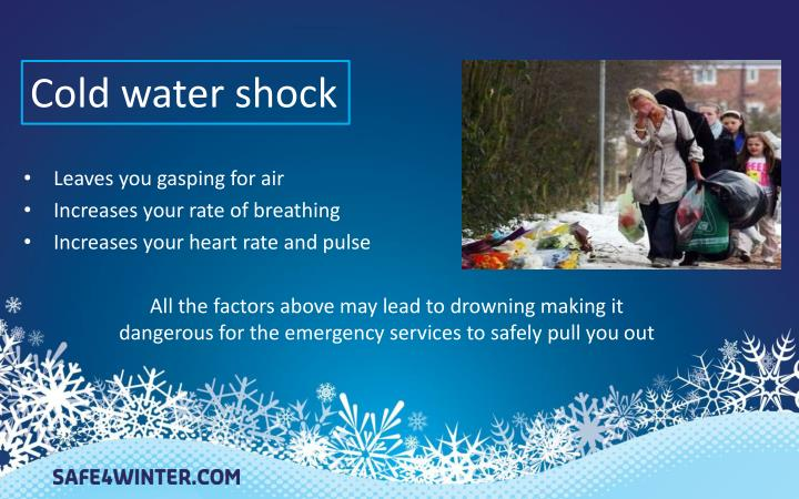 Cold water shock