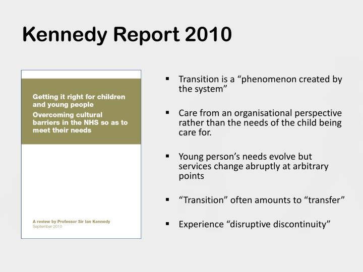 Kennedy Report 2010
