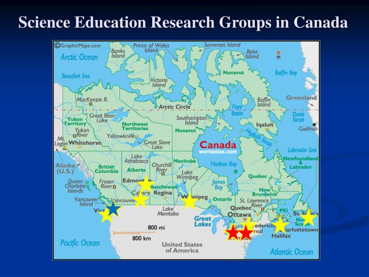 Science Education Research Groups in Canada