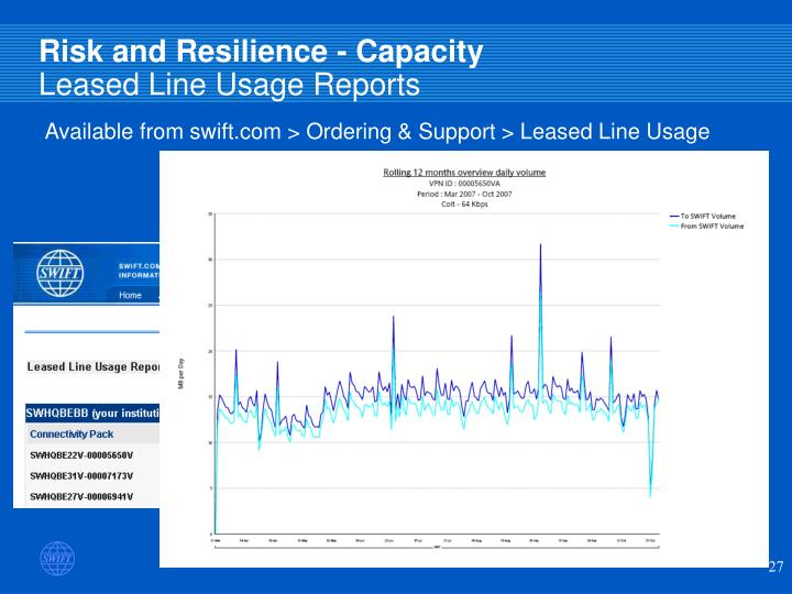 Risk and Resilience - Capacity