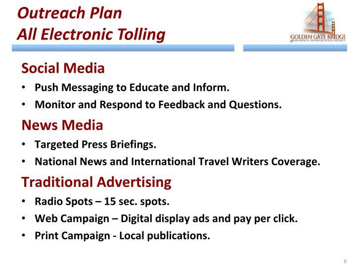 Outreach Plan