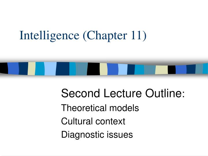 Intelligence (Chapter 11)