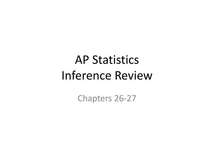 ap stat review 2014 ap ®-2- statistics free-response questions  formulas begin on page 3 questions begin on page 6 tables begin on page 14.