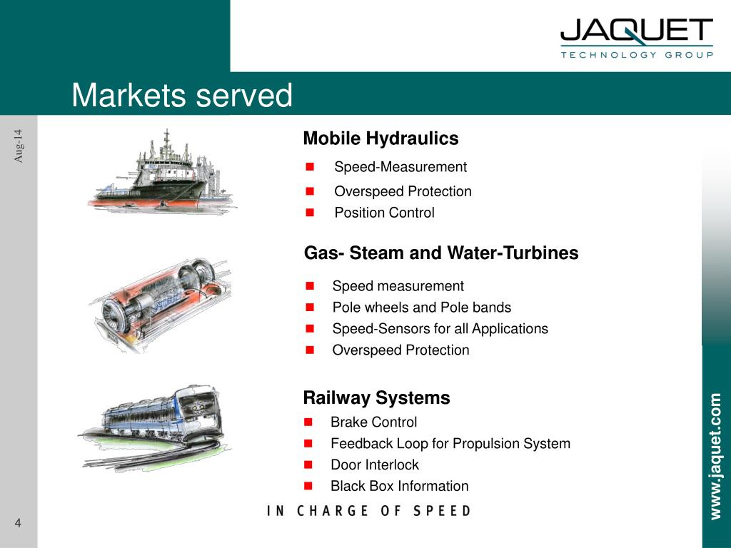 PPT - JAQUET Products for Railway Applications PowerPoint