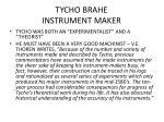 tycho brahe instrument maker