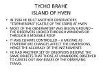 tycho brahe island of hven