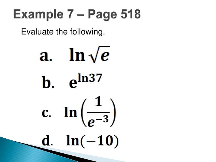 Example 7 – Page 518