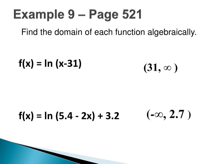 Example 9 – Page 521