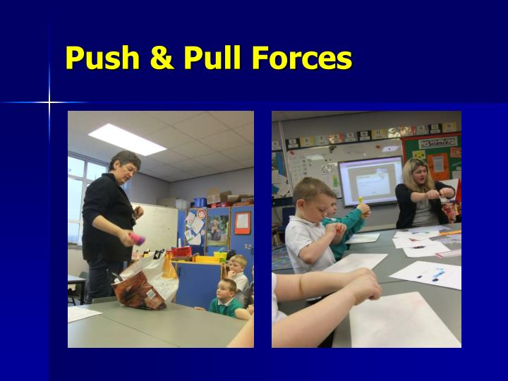 Push & Pull Forces