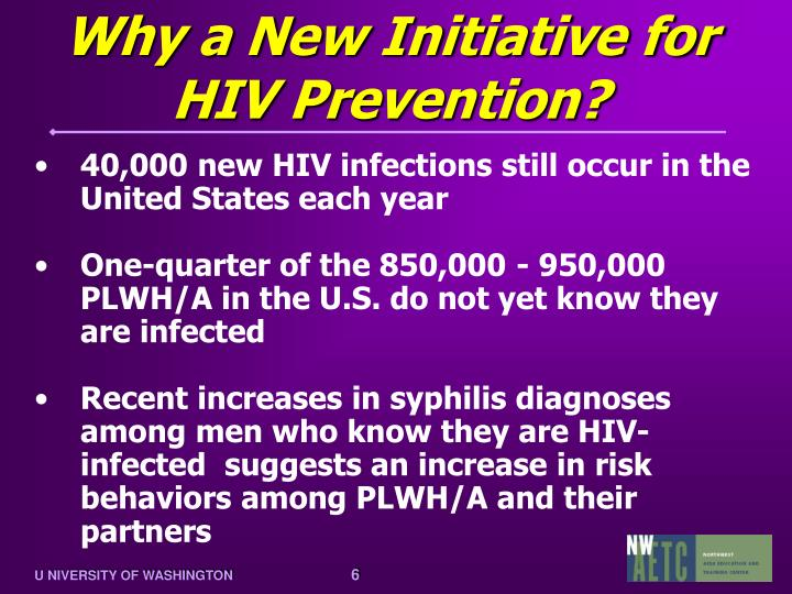 Why a New Initiative for HIV Prevention?