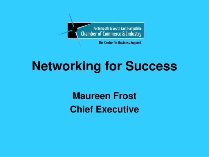 networking for success n.