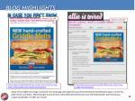 blog highlights