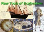 new tools of exploration