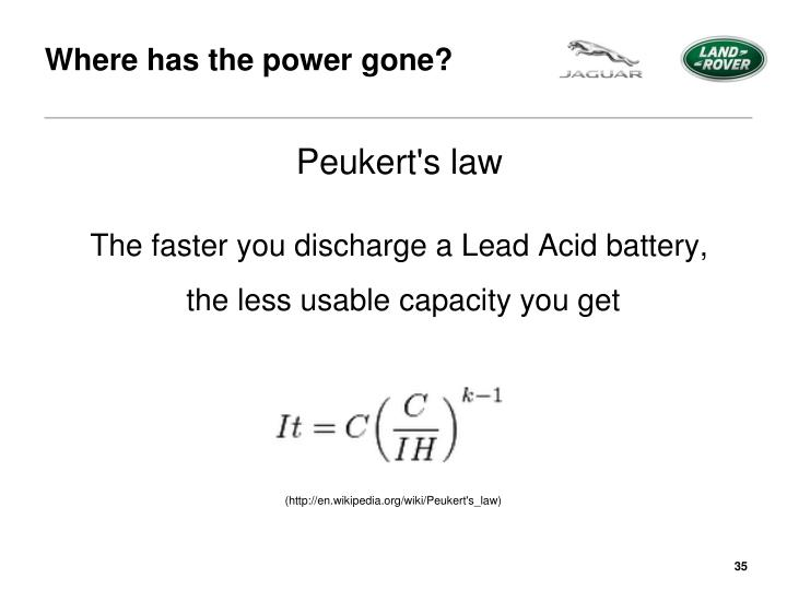 Peukert S Law : Ppt race strategy powerpoint presentation id