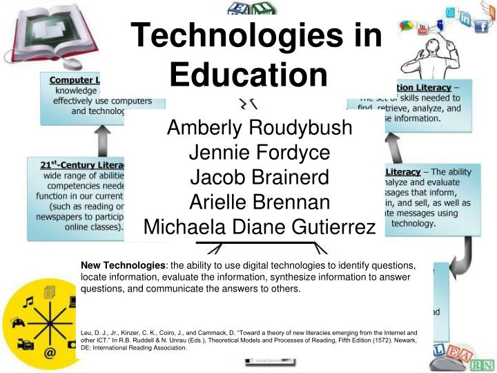PPT - Technologies in Education PowerPoint Presentation - ID