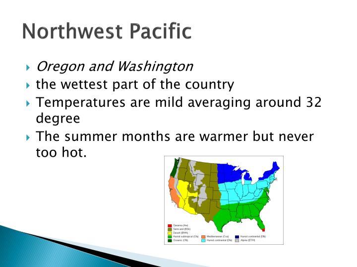 Northwest pacific