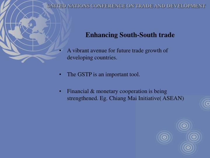 Enhancing South-South trade