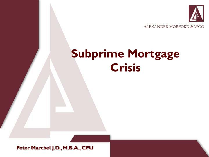 the impacts of subprime crisis in The impact of us subprime crisis on europe is gaining prominence with every passing day there are few instances, which have been mentioned in the article below it shows the initial signs of the impact of subprime crisis and its consequent recession in europe.