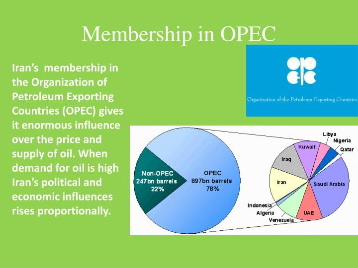the effects of the organization of the petroleum exporting countries The purpose of opec, the organization of petroleum exporting countries, is to question 10 options: a stabilize the price of oil and ensure a regular supply - 8426302.