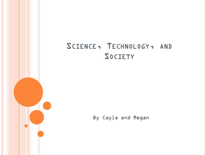 science technology and society n.