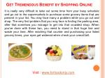 get tremendous benefit by shopping online1
