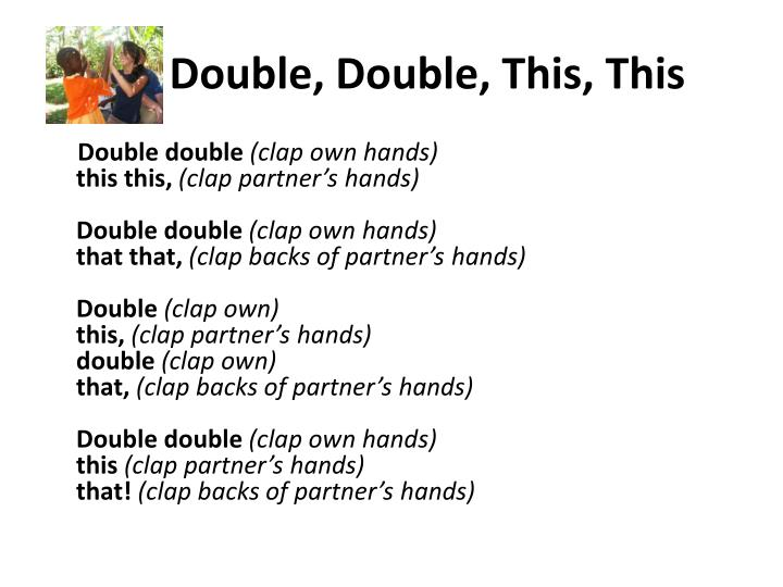 Double double this this