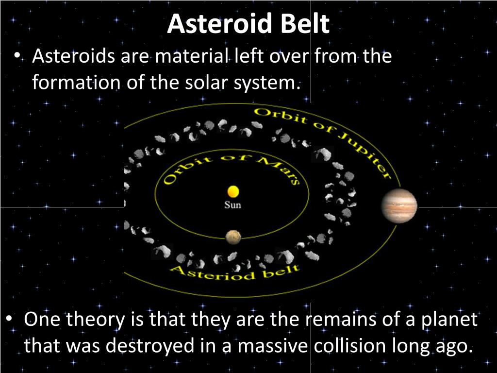 asteroid belt facts - HD1024×768