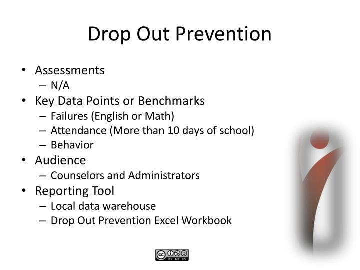 Drop Out Prevention