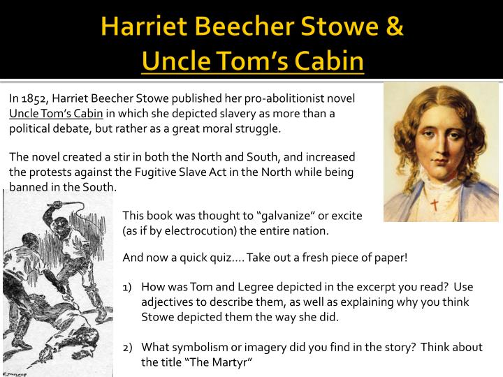 stowe and truth Discover harriet beecher stowe famous and rare quotes share harriet beecher stowe quotations about literature, soul and heart  the truth is the kindest thing we.