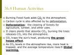 36 4 human activities