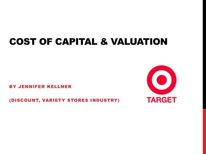 cost of capital valuation n.